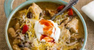 Hearty Crock Pot Chicken Chili Recipe