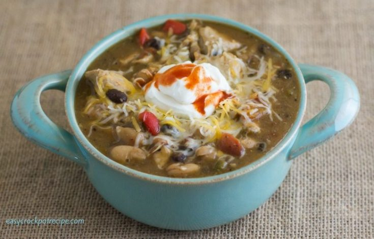 Hearty Crock Pot Chicken Chili Recipe