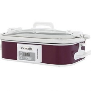 Crock Pot Casserole Slow Cooker Programmable Plum