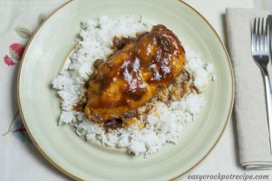 BBQ Cranberry Chicken slow cooker recipe