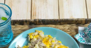 Crock Pot Cowboy Casserole recipe via easycrockpotrecipe.com