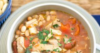 Crock Pot Turkey Soup recipe via easycrockpotrecipe.com