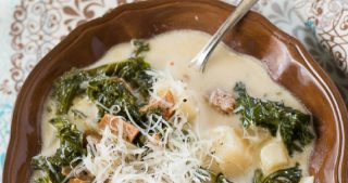 Zuppa Toscana Soup recipe