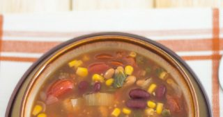 Crock Pot Vegetarian Bean Soup
